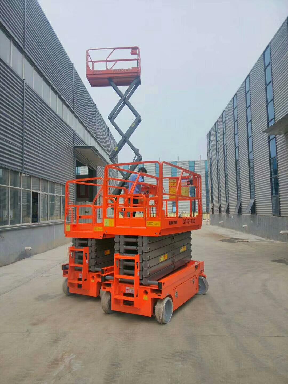镇海升降机/平台车租赁自移动灵活涵盖剪叉、曲臂、直臂三大类